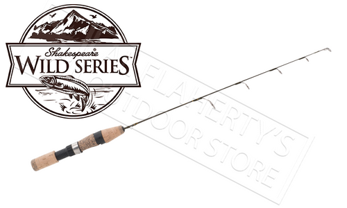 "SHAKESPEARE WILD SERIES ICE RODS, 23"" TO 30"", ULTRA LIGHT TO MEDIUM HEAVY"