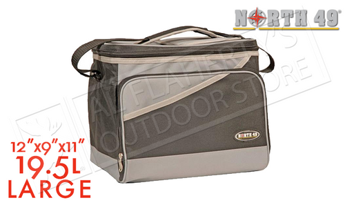 NORTH 49 SOFT SIDED COOLER - LARGE 30X23X28CM #1607