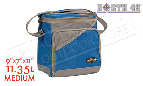NORTH 49 SOFT SIDED COOLER - MEDIUM 23X18X28CM #1606