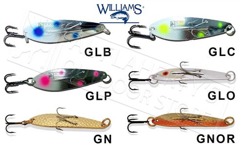 Williams Ice Jig Size J60 - Medium 5/8 oz., Various Patterns #J60