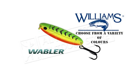 "Williams Wabler Size W60, 3-1/4"", 3/4 oz. #W60"