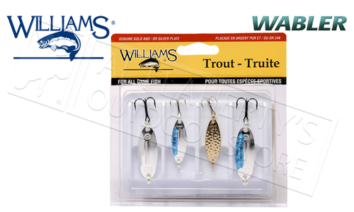 Williams Trophy Takers Classic Wabler Kit, Sizes W20 & W30 #4-W32M