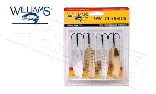 Williams W50 Assorted Classic Spoon Kit #4-50