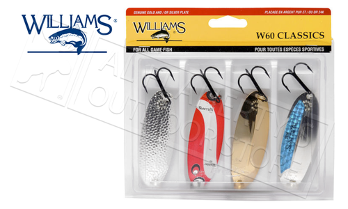 "Williams Trophy Takers Classic Wabler Kit, Size W60, 3-1/4"" 3/4 oz #4-60"
