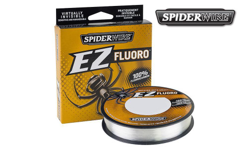 SPIDERWIRE EZ FLUORO FISHING LINE, CLEAR, 200 YARD SPOOLS