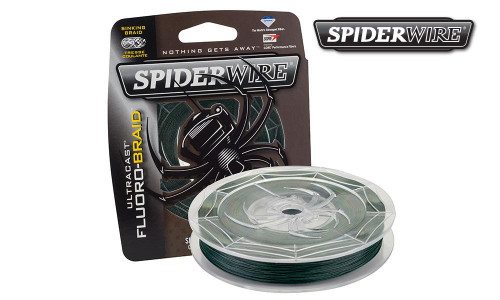 SPIDERWIRE ULTRACAST FLUORO-BRAID FISHING LINE, MOSS GREEN, FILLER SPOOLS