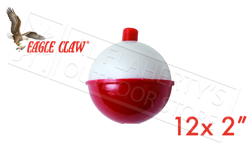 """Eagle Claw 2"""" Snap-On Floats, Pack of 12 #07130006"""
