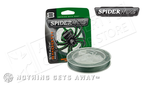 SPIDERWIRE STEALTH SMOOTH BRAID FISHING LINE, 200YD SPOOLS 8-30 LBS.