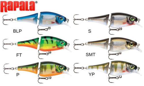"RAPALA BX JOINTED SHAD - BXJSD06 - 2-1/2"", 1/4 OZ, 4' TO 6' DEPTH"
