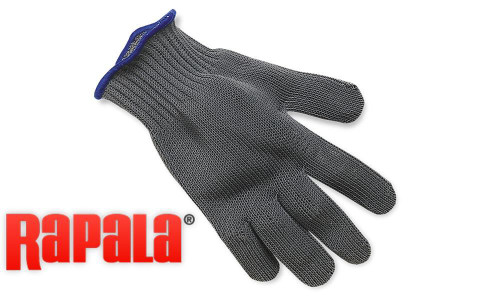 RAPALA FILLET GLOVE, MEDIUM OR LARGE