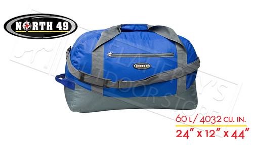 NORTH 49 TRAVEL DUFFLE BAG, 60L CAPACITY #1570
