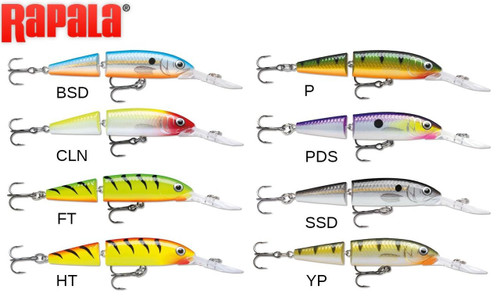 RAPALA JOINTED DEEP HUSKY JERK - JDHJ12 - 12 CM, 14 G, 2.4M-4M DEPTH