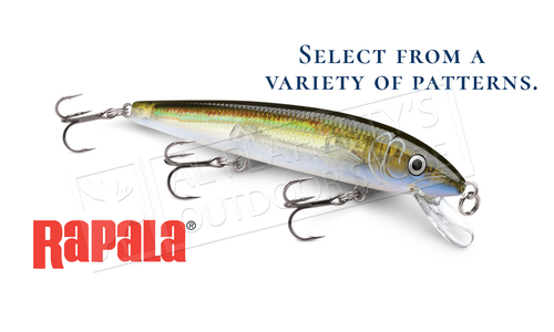 "Rapala Husky Jerk - HJ12 - 4-3/4"", 7/16 oz, 4'-8' Depth"