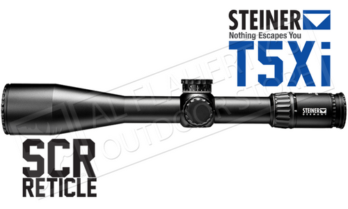 STEINER T5XI RIFLE SCOPE, FFP 5-25X56MM WITH SCR RETICLE