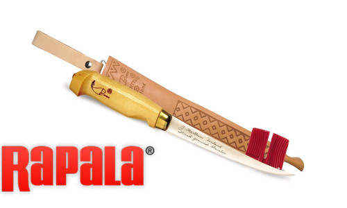RAPALA FISH 'N FILLET KNIFE COMBO WITH SHARPENER