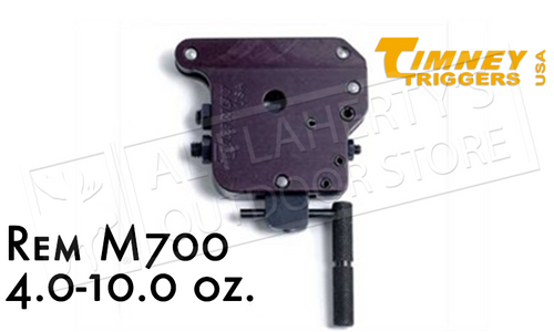 TIMNEY TRIGGERS REMINGTON 700 TACTICAL, NO SAFETY 4.0-10.0 OZ. #501T