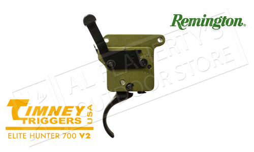 Timney Triggers Remington 700 Elite Hunter V2 Trigger - RH with Safety #510-V2