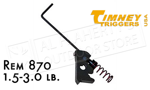 TIMNEY TRIGGERS REMINGTON 870 TRIGGER FIX, 1.5-3 LB. ADJUSTABLE #870