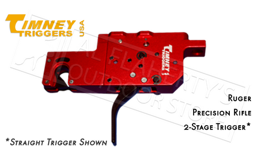TIMNEY TRIGGERS RUGER PRECISION RIFLE 2-STAGE TRIGGER, CURVED ADJUSTABLE #650