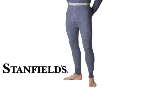 STANFIELD'S TWO LAYER WOOL BLEND LONG JOHNS #8812