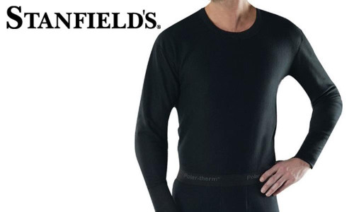 STANFIELD'S PERFORMANCE MICROFLEECE CREW TOP #7567 552