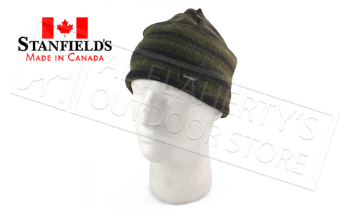 STANFIELD'S HERITAGE STRIPED WOOL TOQUE, VARIOUS COLOURS #1320
