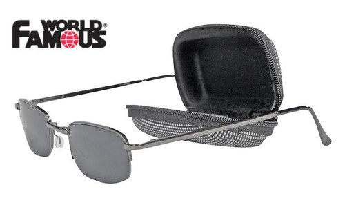 WFS COMPACTZ SUNGLASSES, FOLDING WITH CASE #3196