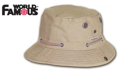 WORLD FAMOUS SKIPPER HAT, TAN M-XL #5115