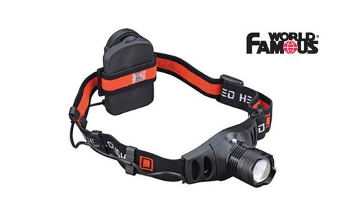 WORLD FAMOUS 5 WATT CREE LED HEADLAMP #2410