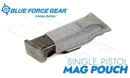 Blue Force Gear Ten-Speed Single Pistol Belt Pouch, Grey #BT-TSP-PISTOL-1