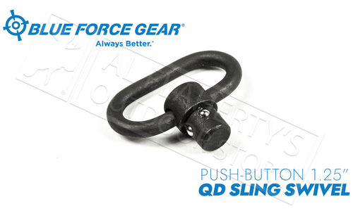 "Blue Force Gear Push Button Sling Swivel - 1.25"" #P-PB-125"