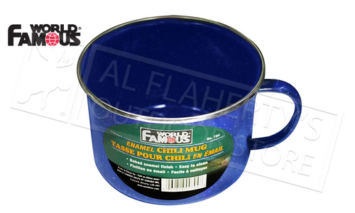WFS ENAMEL CHILI MUG 800ML #704