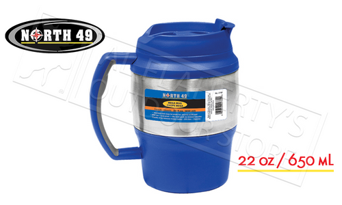 NORTH 49 INSULATED MEGA MUG, 22 OZ #2780