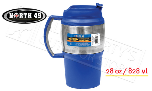 NORTH 49 INSULATED MEGA MUG, 28 OZ #2780