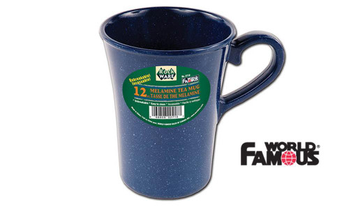 WORLD FAMOUS ROCKWARE MELAMINE TEA MUG #2710