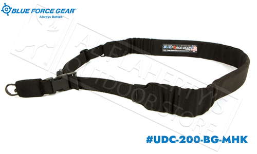 Blue Force Gear UDC Padded Bungee Single Point Sling with MASH Hook Adapter #UDC-200-BG-MHK