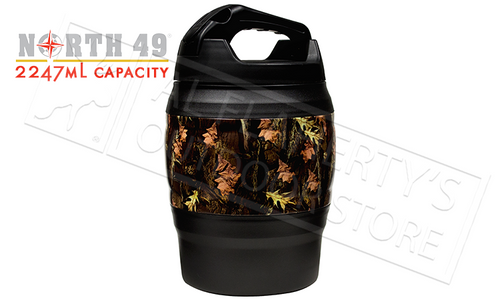 NORTH 49 UNIFLAGE CAMO MEGA MUG, INSULATED 2.25L #2796