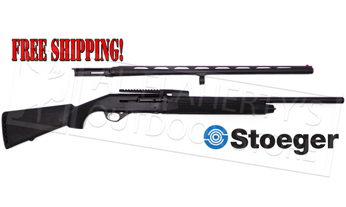 "STOEGER M3500 COMBO, 12 GAUGE, 3.5"" CHAMBER, 28"" SMOOTH & 24"" CANTILEVER RIFLED BARREL"