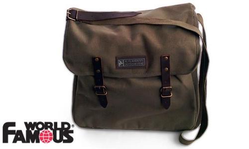 WFS CITY MESSENGER BAG, O.D. GREEN WITH TABLET/LAPTOP POCKET #3012OD