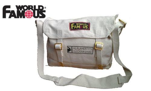 WFS WEB HAVERSACK, WHITE #WH2