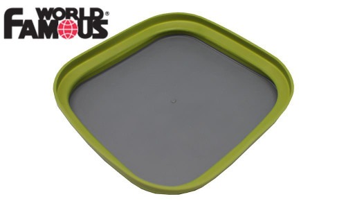 """WORLD FLAT-PACK COLLAPSIBLE PLATE, 7"""" #2272"""