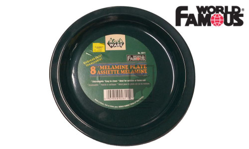 "WORLD FAMOUS ROCKWARE PLATE, 8"" #2711"