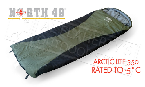 NORTH 49 ARCTIC LITE 350 SLEEPING BAG #5866