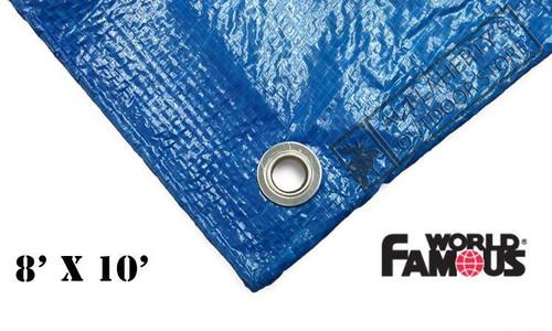 WFS RIPSTOP TARP, BLUE 8FT X 10FT #P810