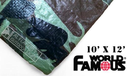 WFS RIPSTOP TARP, CAMO 10FT X 12FT #P1012C