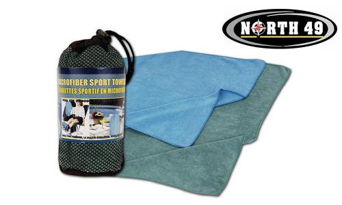 NORTH 49 MICRO SPORT TOWEL, 74 CM X 140 CM #4046