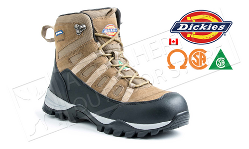 DICKIES MEN'S ESCAPE HIKER 6 INCH STEEL-TOE WORK BOOT #D1422