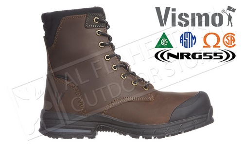 "VISMO 8"" SAFETY BOOT, SIZES 8-12 #C94"