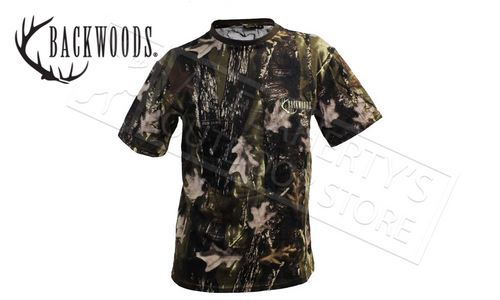 BACKWOODS CAMO T-SHIRTS, SIZES M-3XL