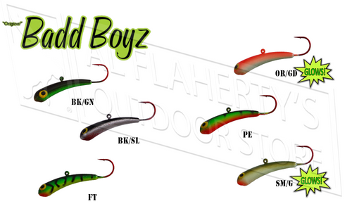 "MAGZ ORIGINAL BADD BOYZ JIGGING LURE, 2"", 1/4 OZ."
